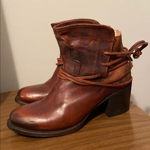 F. B. Casey by Freebird Leather Booties